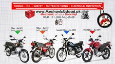 Missed the Bike Tuning this weekend due to BARI EID?  Book your Mechanic Now for Home and office Services. Slots available from 5th September 2017. www.MechanicUstaad.pk/contact-ustaad 0341-111-(MU-MU)68-68 #fashion #Classy #Retro #Steampunk #Shoes #Sunglasses #Security-systems #Dash-cams  #Gadgets #Gizmos #Winter-jackets #Hydrographichardhats