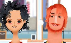 Toca Hair Salon 2 :: Toca Boca :: iPhone/iPad, Android, Kindle :: Operate hair salon in this free play game. Includes four characters and tools to creatively cut, color, and style hair, even beards. :: No in-app purchases. In-app advertising is for Toca Boca products only. :: $2.99 :: 3+