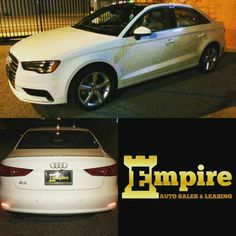 Congratulations Dear Arpineh on your Brand New Audi A3. Enjoy your new car and welcome to the Empire Auto Family.  #empireauto #new #car #lease #purchase #finance #refinance #newcarlease #newcarfinance #leasingcompany #customerservice #GlenoaksBlvd #glendale #brokerage #autobrokersales #autobroker #autobrokers #wholesaler #freeoilchange #freemaintanance #2016audia3