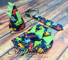 Boys dinosaur cake smash outfit with spikes by CraftyVine on Etsy