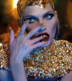 Aline Weber by Nat Prakobsantisuk for Vogue Thailand