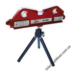 Купить Уровень лазерный на мини штативе INTERTOOL MT-3008. Цена. Доставка. Гарантия.