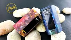 Get the RX Mini Resin for $59.99 at VaporDNA! Wismec's Reuleaux mini platform gets a makeover by utilizing a resin body. This means that each design is unique and no 2 mods will ever be the same. The Reuleaux RX Mini still packs a 2100 mAh integrated battery and a maximum power output of 80W Read the full article...