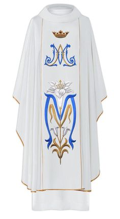 Gothic Chasuble | Marian and Lily Design | Polish | 058 - F.C. Ziegler Company