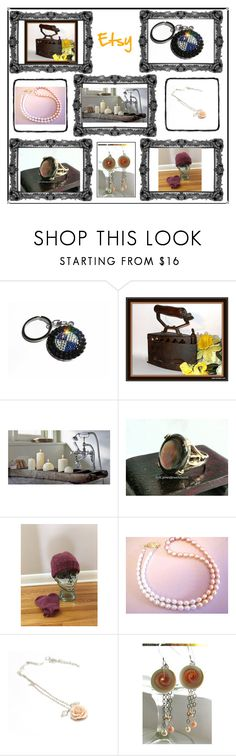 """Etsy original gifts"" by blingauto ❤ liked on Polyvore featuring interior, interiors, interior design, home, home decor, interior decorating, Great and gifts"