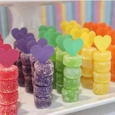 23 Ideas For Birthday Party Food Bar Mickey Mouse Rainbow Birthday Party, Unicorn Birthday Parties, 2nd Birthday, Rainbow Parties, Birthday Treats, Party Decoration, Birthday Decorations, Decoration St Valentin, Snacks Für Party