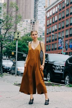 Street looks à la Fashion Week printemps-été 2016 de New York