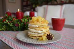 Život v zahradě: Lívance s badyánovými jablky a skořicovou pěnou