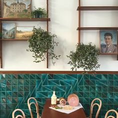 Home - El Italiano Decor, Cafe Interior, Wall Decor, Interior, Color Design Inspiration, Tiles Game, Home Decor, Colorful Decor, Interior Design