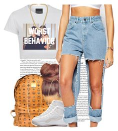 July 29, 2k15 by xo-beauty on Polyvore featuring polyvore, fashion, style, The Ragged Priest, MCM, Kenneth Jay Lane, Lana, Drakes London and ASOS
