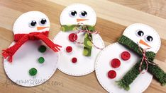 Snowman Card with REAL Knit Scarf with Staci!