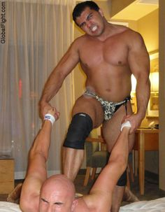 big musclejocks hotel room wrestling video recorded webcam shows