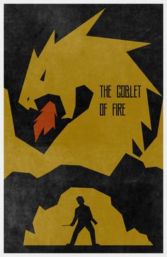 The Goblet of Fire (The Boy Who Lived 4 of 8) Art Print by Travis English