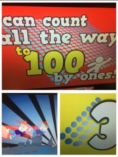 Harry Kindergarten Counting Superhero Video!  Show during calendar time so your kids can practice counting to 100.