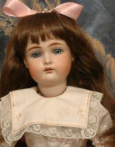"*INCREDIBLE BLUE EYES*20"" KAMMER REINHARDT 192 Antique German Doll"