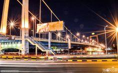 Tuti bridge at night, Khartoum  كبرى توتي ليلاً، الخرطوم #السودان  (By Monzir…