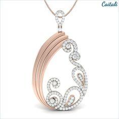 Vicia Fashion Pendant - Caitali (Sterling Silver)