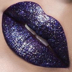 LipOfTheDay is Pagan LipTar topped with OCC Fae Glitter and Lined with Anti-Feathered OCCPencil