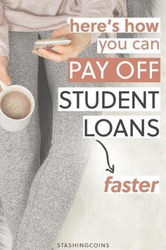 Are you drowning in student debt? Getting rid of student debt will accelerate your way to financial freedom. Here are a few ways you can increase your sources of income in order to pay off your student debt. #getridofstudentdebt #extraincomesources