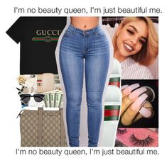"""""""CONTEST☀"""" by shawtyash ❤ liked on Polyvore featuring Gucci"""