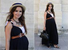 Várias dicas e truques para se vestir bem na gravidez!