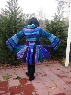 Fairy Coat, crochet, inspired by Katwise