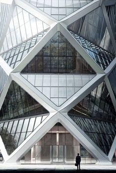 32 Amazing Photo of Origami Architecture Design Origami Architecture Design Work Mir Bergen Norway Shapes Lines And Curves Architecture Origami, Architecture Design, Facade Design, Gothic Architecture, Futuristic Architecture, Amazing Architecture, Contemporary Architecture, Architecture Geometric, China Architecture