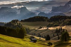Morning in Alpe di Siussi by Hans Kruse, via 500px