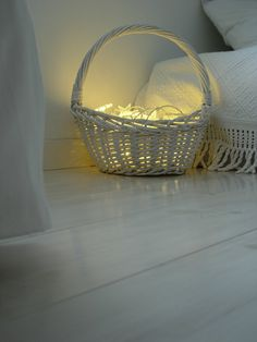 Could use this idea as a shabby chic porch light at night with a timer
