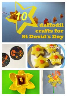 10 Daffodil crafts for St David's Day