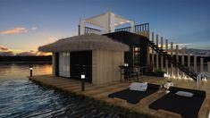 Image result for floating hotel room Haikou, Floating Hotel, Mansions, House Styles, Room, Image, Home Decor, Bedroom, Decoration Home