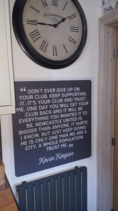 My signs in situ! Thanks for sharing Mandy :) #print #prints #art #posters #wallart #wallartdecor #decor #home #homes #homestyle #homestyling #style #interior #interiors #interiordesign #design #inspiration #inspo #gift #newcastle #football #sign #graphicdesign #madeinengland #madeinnottingham