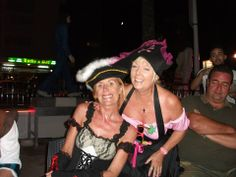 Me and Jan on Andy's 5oth in Benidorm