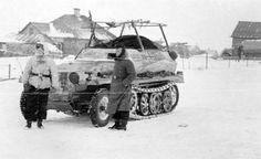"retrowar: "" Sd.Kfz 250/3 """