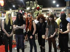 DETHKLOK, by far the most accurate and hottest cosplay.