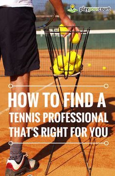 Do you want to learn how to play tennis? Getting started with tennis is tricky. DO NOT book a tennis lesson until you've read this. This info will save you time and money. #tennis #beginners #tennispros
