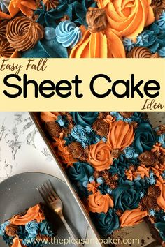 This cake decorating tutorial will walk you through this cake trend so you can start creating beautiful cakes! #cake #thepleasantbaker #cakedecorating