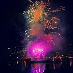 Portland Rose Festival Fireworks