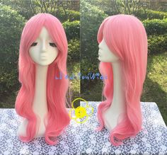 Name: My Little Pony Fluttershy Cosplay Wig, Pink Color Friendship is Magic Costume Anime Party Wigs 219 Material: High Heat Resistant Synthetic Hair, can be curled and straightened. Item Type: Cosplay Wig Brand Name: uFashionWigs Color: Pink Net Weight: 400G Style: Curly Model Number: UF219 Length: 85+-3cm Style: Party Cos: My Little Pony - Fluttershy