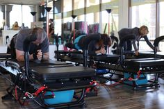 How long does it usually take for clients to see results? #Lagree #Fitness