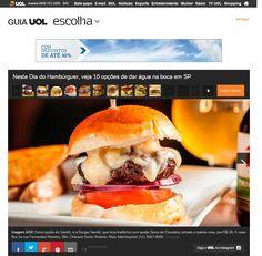 Hamburger, Ethnic Recipes, Food, Meal, Hamburgers, Essen, Hoods, Burgers, Meals