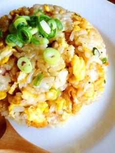 Garlic-Soy Sauce Fried Rice
