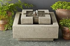 Campania International M-Series Escala Fountain – Birdsall & Co.