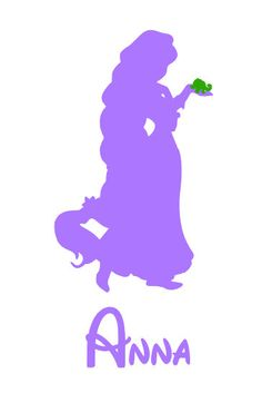 Personalized Tangled Rapunzel Princess Disney iron on decal vinyl for shirt on Etsy, $7.00