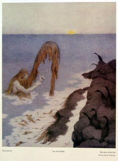 """Havmannen"", Theodor Kittelsen"