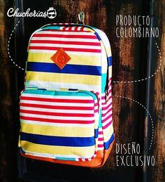 Morrales llenos de estilo  y actitud  sólo  aquí  en #chucheriascm  Cra 34 # 51- 48 Cabecera,  los esperamos.  Información por  direct o  whatsapp 304 47 17 807 #chucheriascm #productocolombiano #backpack #bolsos #diseño