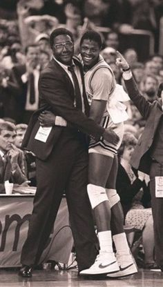 John Thompson- 1976 Montreal Olympics Basketball assistant coach & 1988 Seoul Olympics Basketball head coach, with Patrick Ewing Olympic Basketball, Basketball Legends, Basketball Games, College Basketball, Providence College, Patrick Ewing, College Hoops, Boxing Champions, Sport Icon