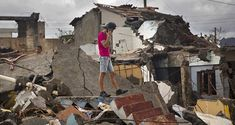 A man searching for belongings amid the rubble of his home destroyed by Hurricane Matthew in Baracoa, Cuba. Dengue Fever, Hurricane Matthew, The Weather Channel, Pictures Of The Week, South Carolina, Caribbean, Image Search, Searching, Oct 2016