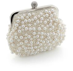 may pearl clutch bag by vintage styler | notonthehighstreet.com