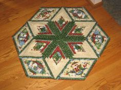 Log Cabin Star - Quilt With Us